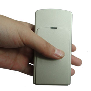 android gps wifi - Mini Portable Triple Frequency GPS Jammer With Built-in Antenna + Light Brown (GPS L1/L2/L5)