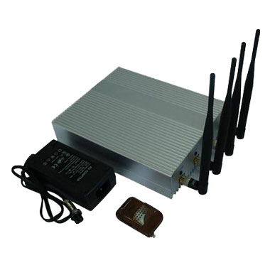 gps cellphone tracking - Mobile Phone Jammer - 10m to 40m Shielding Radius - with Remote Controller