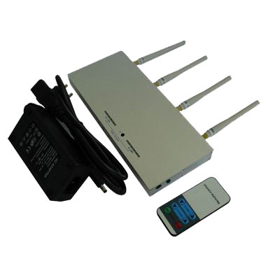 leading cell phone manufacturers - Mobile Phone Jammer - 10m to 30m Shielding Radius - with Remote Controller