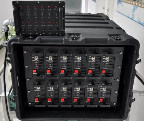 Cell Jammer factory - 868W High Power Fully Integrated Broad Band Jamming System