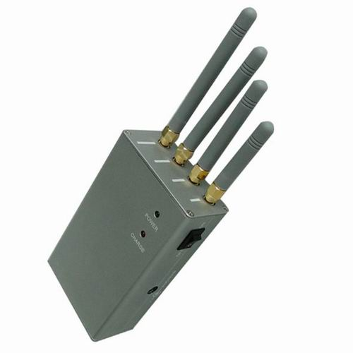 jammer lojack - High Power Handheld Portable Cell Phone Jammer-Omnidirectional Antennas