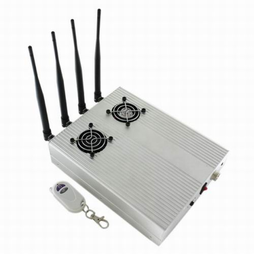 signal jammer Qatar - New Style High Power Desktop Cell Phone Jammer - CDMA/3G/GSM Blocker with 2 Cooler Fans