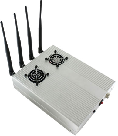 5 Antennas Cell Phone Jamming - 5G Blocker device