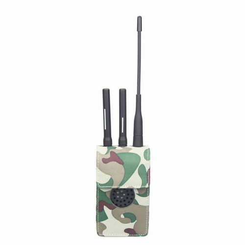 cell phone with antenna - Jammer for LoJack, 4G LTE and XM radio