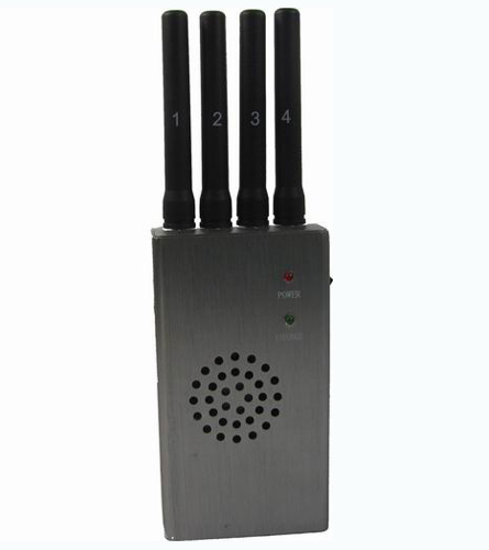 High Power Portable GPS and Cell Phone Jammer with Carry Case