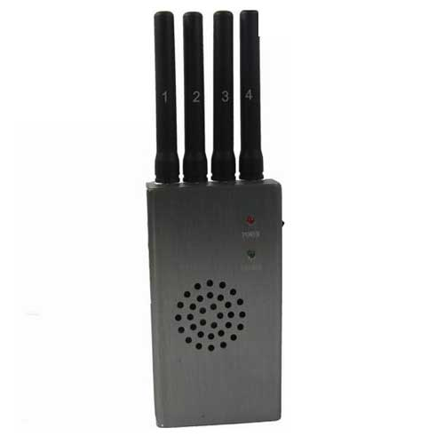 mobile jammer antenna adapter - Portable High Power 3G 4G Cell Phone Jammer with Fan