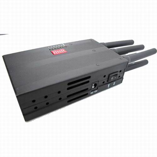 cell phone frequency jammer - Selectable Portable 3G Phone LoJack GPS Jammer with High Capacity Battery