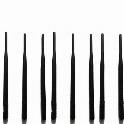 Blocked mobile phone - 8pcs Replacement Antennas for Signal Jammer
