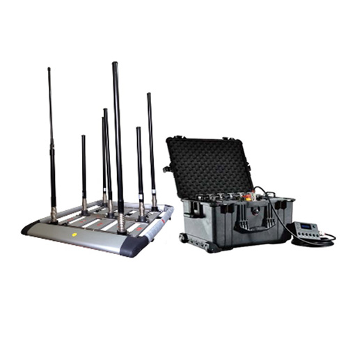 signal scrambler for sale - 300W 4-8bands High Power Drone Jammer Jammer up to 1500m