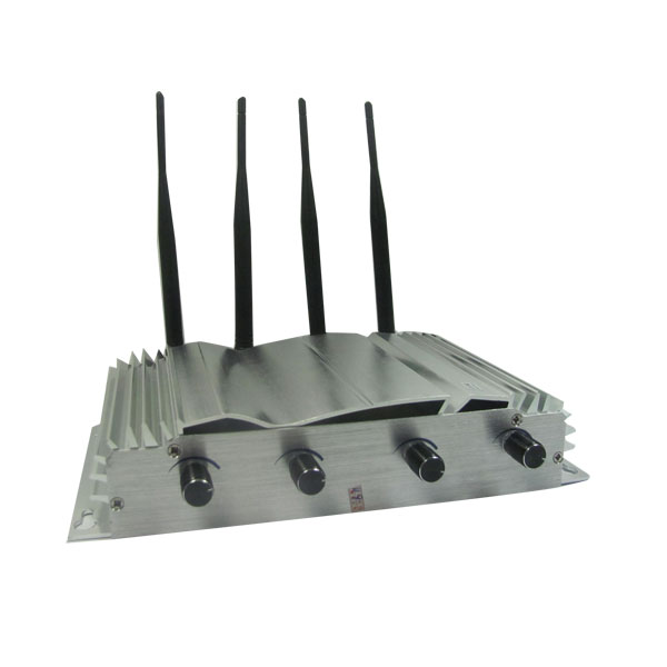 5 Antennas Cell Phone Jammer - Mobile Phone Jammer + GSM + CDMA + DCS + 3G