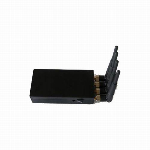 cell jammer 4 g - Portable High Power 4W Mobile phone signal Jammer (CDMA,GSM,DCS,PHS,3G)