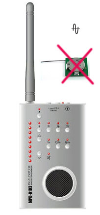a-spy mobile jammer toy - Bug Detector Radio Frequency Detector