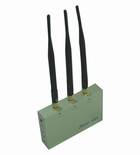 blocking a wifi signal - Cell Phone Jammer with Remote Control (CDMA,GSM,DCS and 3G)