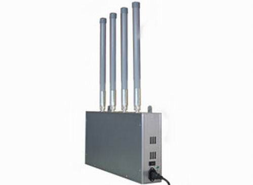 block cell phone - High Power Mobile Phone Jammer with Omni-directional Firberglass Antenna