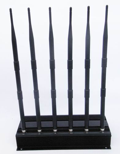 signal blocker wifi garage - High Power 6 Antenna Cell Phone,GPS,WiFi,VHF,UHF Jammer