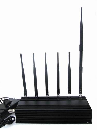 lte cellular jammer swimsuit - 6 Antenna 3G 4G LTE Cell phone GPS & LOJACK Jammer