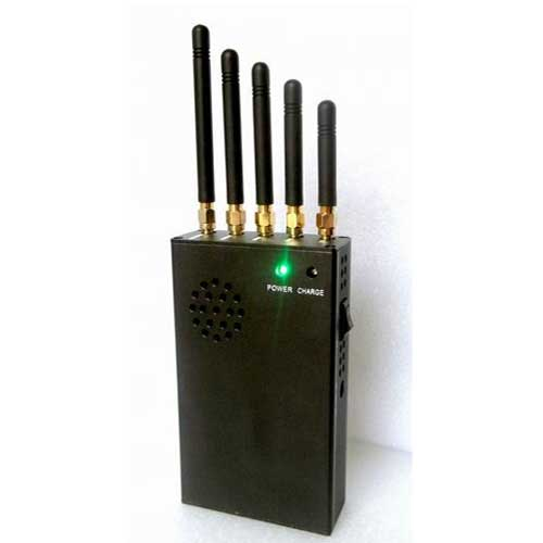 cell phones in prison - 3W Portable 3G Cell Phone Jammer & 4G Jammer (4G LTE + 4G Wimax)
