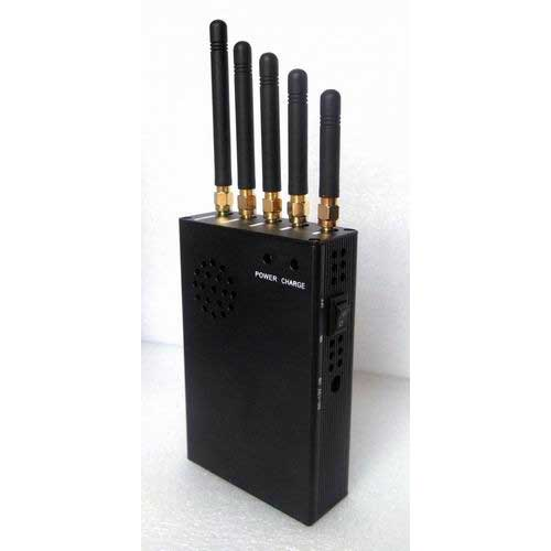 jammer disaster - 3W Portable CDMA450 Cell Phone Jammer