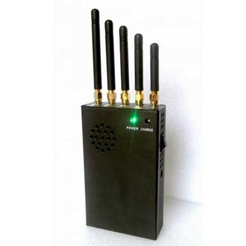 14 Antennas Cell Jammer - Portable 3G 4G LTE Cell Phone Jammer & WiFi Jammer