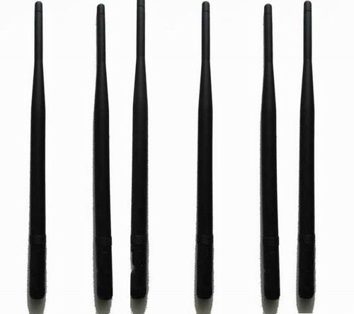 cell phone jammer working - 6pcs Replacement Antennas for High Power Cell Phone RF Signal Jammer