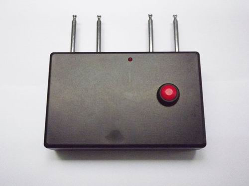 apps that track cell phones - Portable Quad band RF Jammer (310MHz/ 315MHz/ 390MHz/433MHz)
