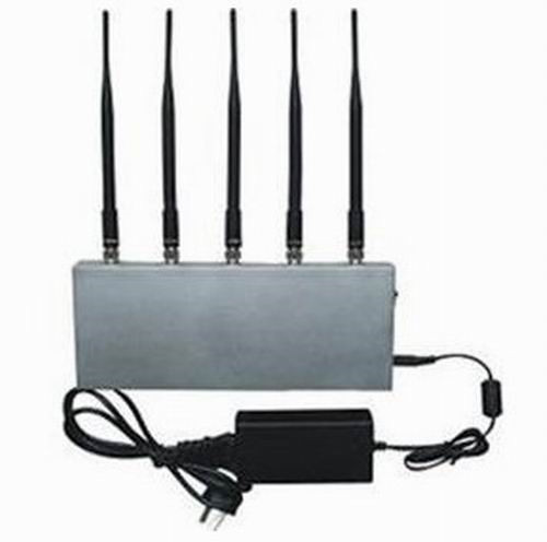 safe cell phone use - 5 Band Cell Phone Signal Blocker Jammer
