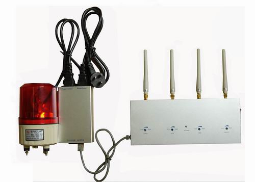High Power Cell Phone Jamming - All Mobile Phone Signal Detector with Alarming System