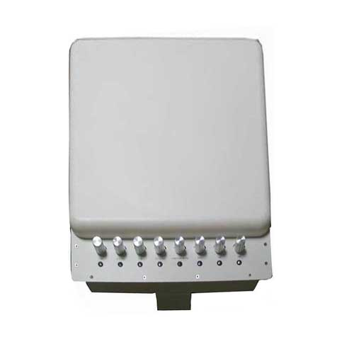 cell phone tap blocker - Adjustable 3G 4G Wimax Mobile Phone WiFi Signal Jammer with Bulit-in Directional Antenna