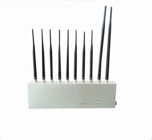 cell phone blocking case - 10 Antenna 10 Band 3G 4G GPS WiFi LoJack UHF VHF All Signal Jammer