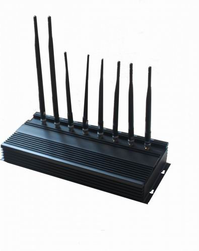 waterproof cell phone - 8 Bands High Power 3G Phone Jammer WiFi GPS LoJack UHF VHF Jammer