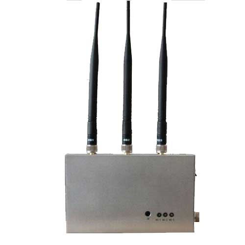 portable cell phone signal jammer - Remote Controlled 4G Mobile Phone Jammer