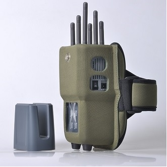12 Antennas Bluetooth Jammer - 6 Bands All CellPhone Handheld Signal Jammer