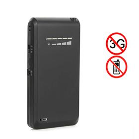 New Cellphone Style Mini Portable Cellphone 3G & 4G Wimax Signal Jammer