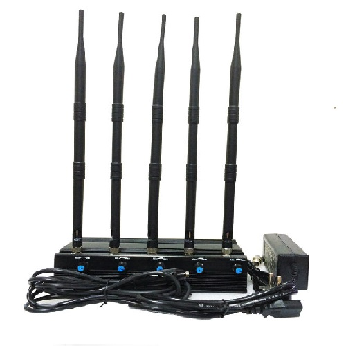 cellphone coverage maps - Adjustable 5.2G/5.8G 2.4G WIFI Jammer With 4 Antennas