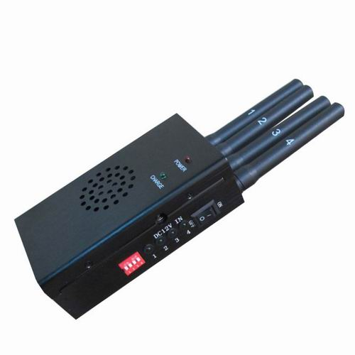 Wholesale Black Portable High Power 4G LTE Mobile Phone Jammer