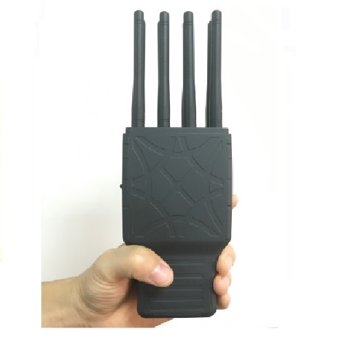 Wholesale Handheld 8 Bands All CellPhone and WIFI GPS Signal Jammer with Nylon Case